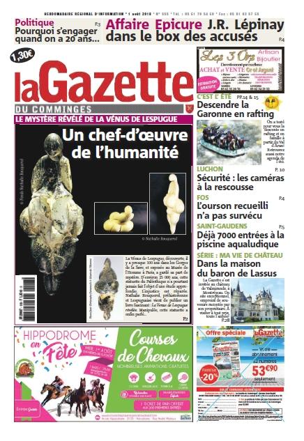 Une Gazette 1er août